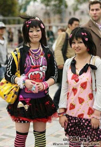 موضه بنات اليابان